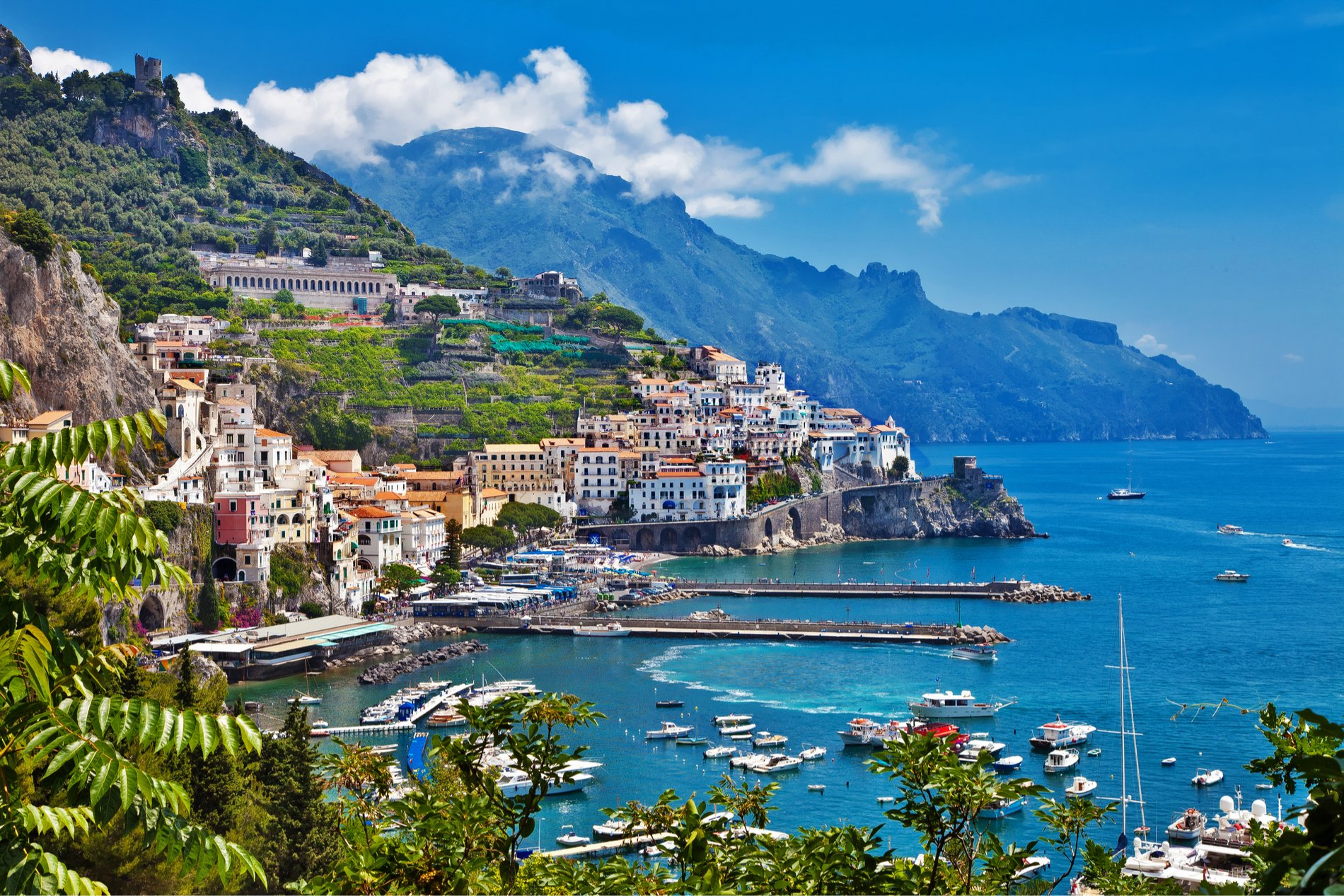 Self Guided Walking Holidays in April, iconic walks, italy walking holidays, Amalfi and Sorento Coast to Coast