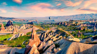fairy trails of cappadocia, the fairy trails of cappadocia
