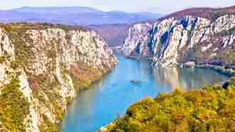 iron gates and djerdap national park, serbia walking holiday, serbia self guided