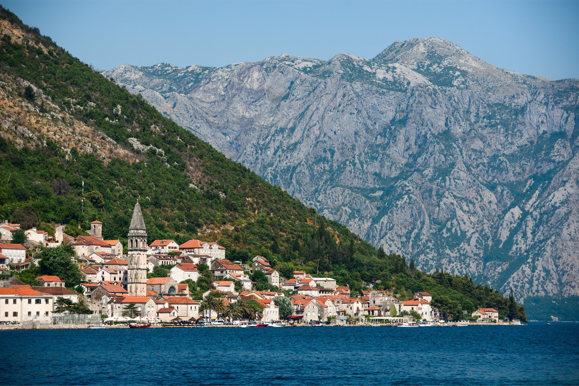 montenegro walking tour, south montenegro and kotor bay in style (strenuous)