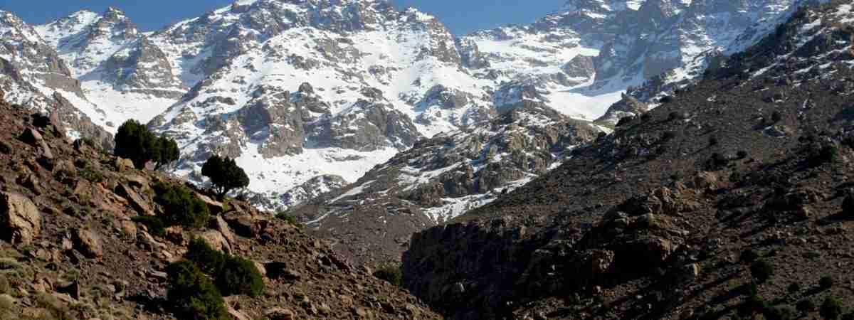 High Atlas and Mount Toubkal