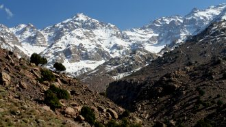 High Atlas and Mount Toubkal