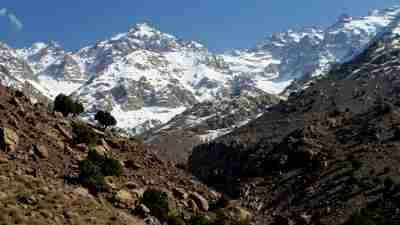 High Atlas and Mount Toubkal, mount toubkal hiking, trkking to mile toubkal, climbing mount toubkal, high atlas walking holiday