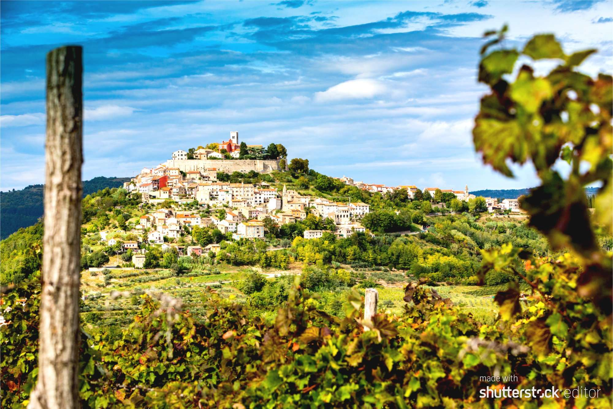 trails and wines of istria