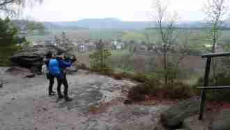 Trekking the Malerweg Trail 24