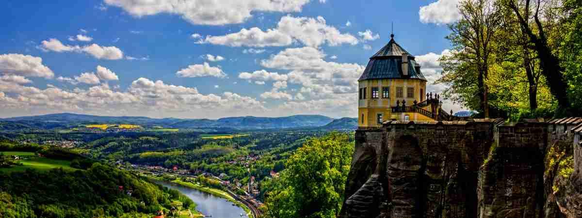 Malerweg Trail South: Krippen to Pirna