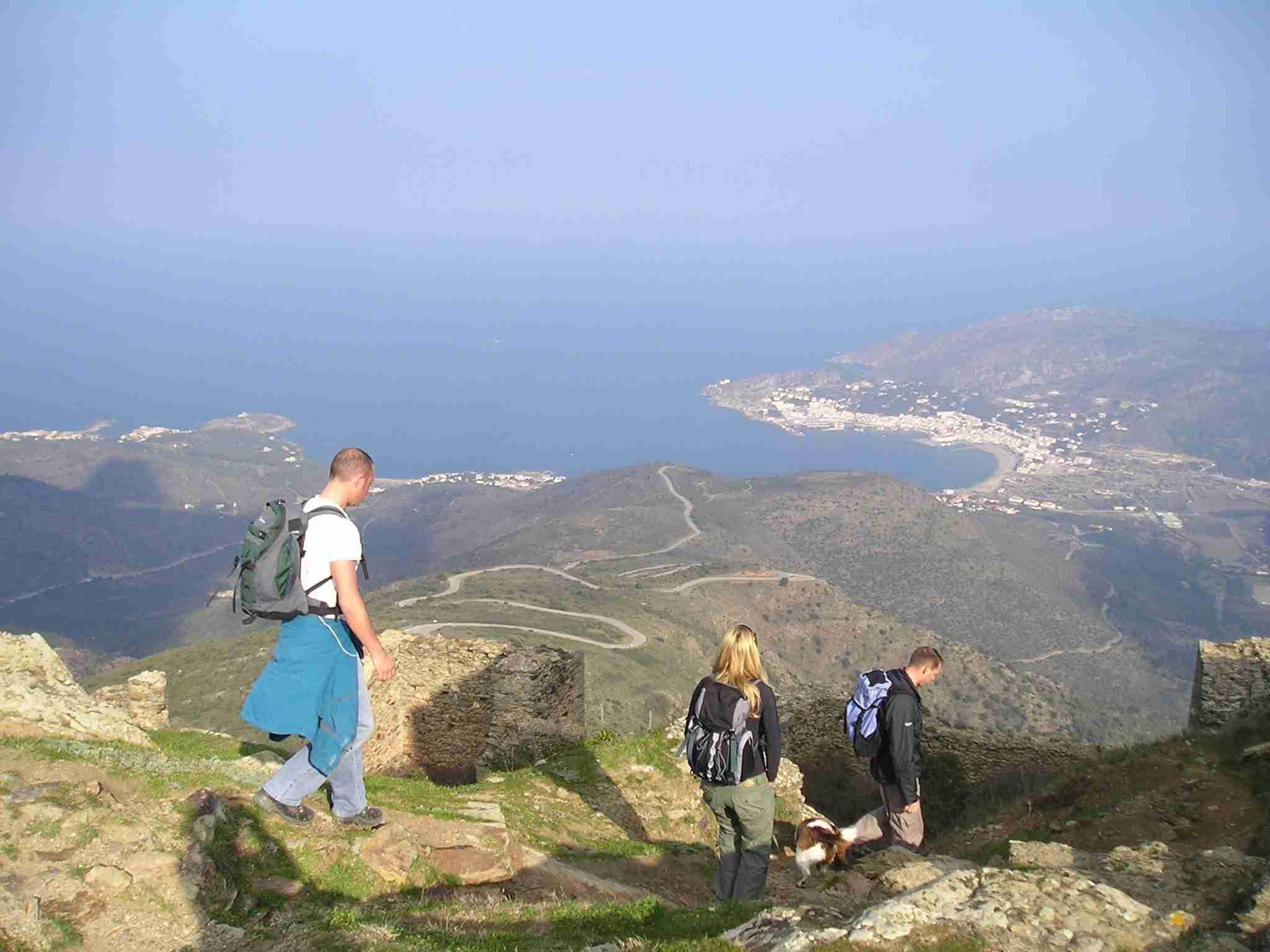 Spain Walking Holidays, walking holidays in spain, Pyrenees Coastal Trails: Cadaqués to Collioure