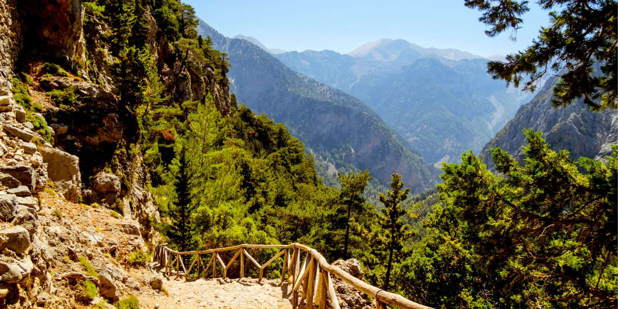 Gorges of West Crete, walking holiday in crete