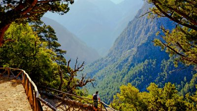 walking holidays in crete, Samaria Gorge and Mount Pachnes, samaria gorge, crete west coast, mount pachnes
