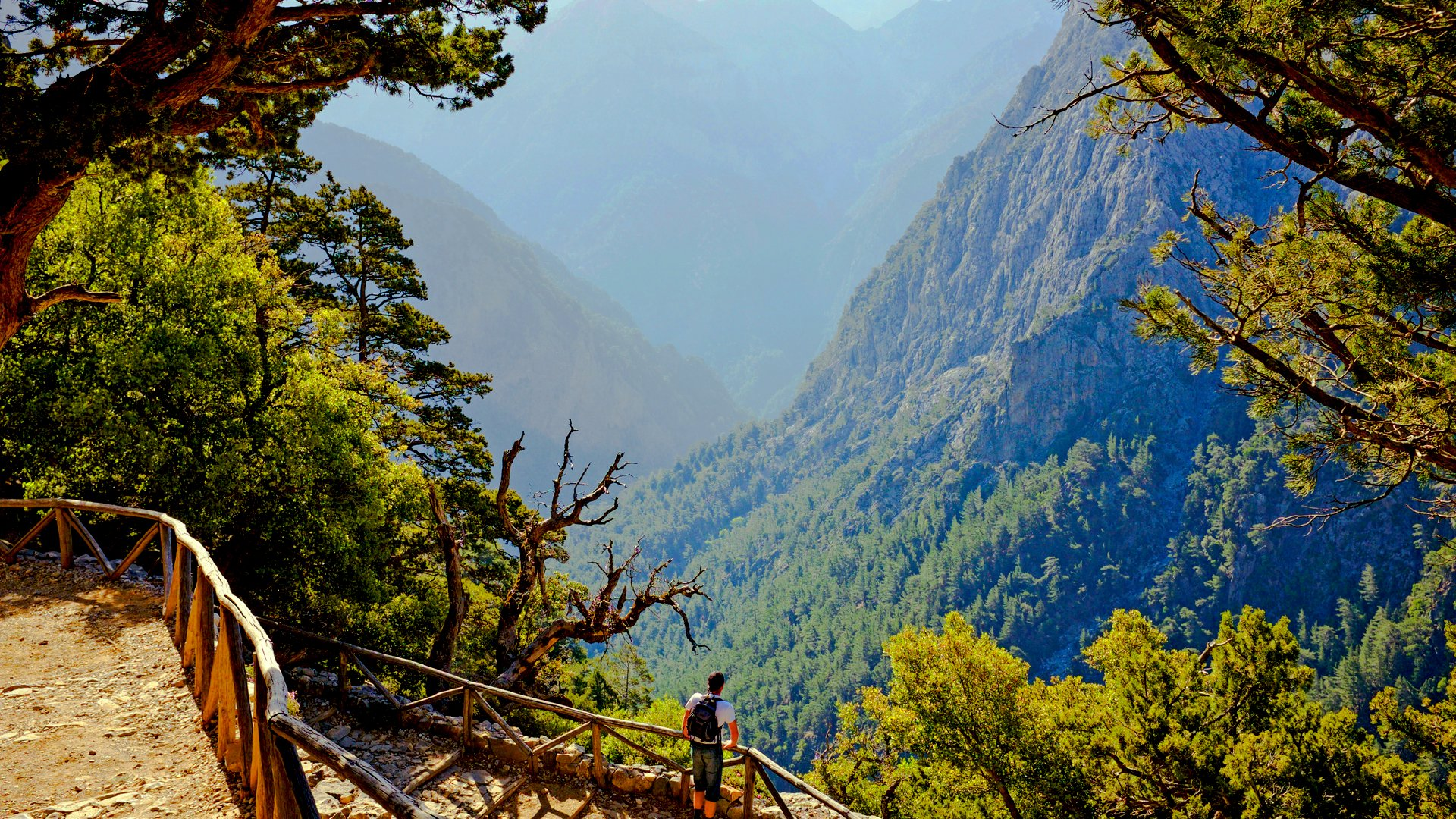 walking holidays in crete, Samaria Gorge and Mount Pachnes, samaria gorge, crete west coast, mount pachnes