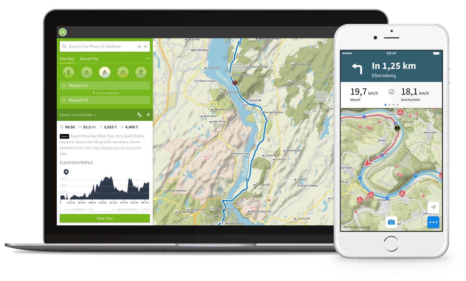 The Natural Adventure Smartphone Navigation App, Launching The Natural Adventure Smartphone Navigation App,