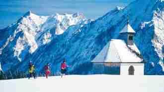 Salzkammergut Winter Walking in Style