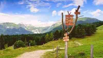 via alpina: purple route, via alpina, purple route walking holiday