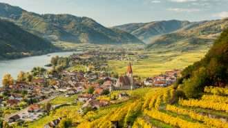 walking in the wachau wine country