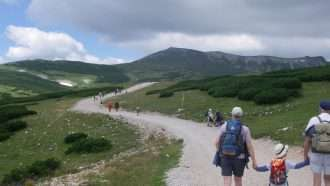 Walking in the Vienna Alps 2