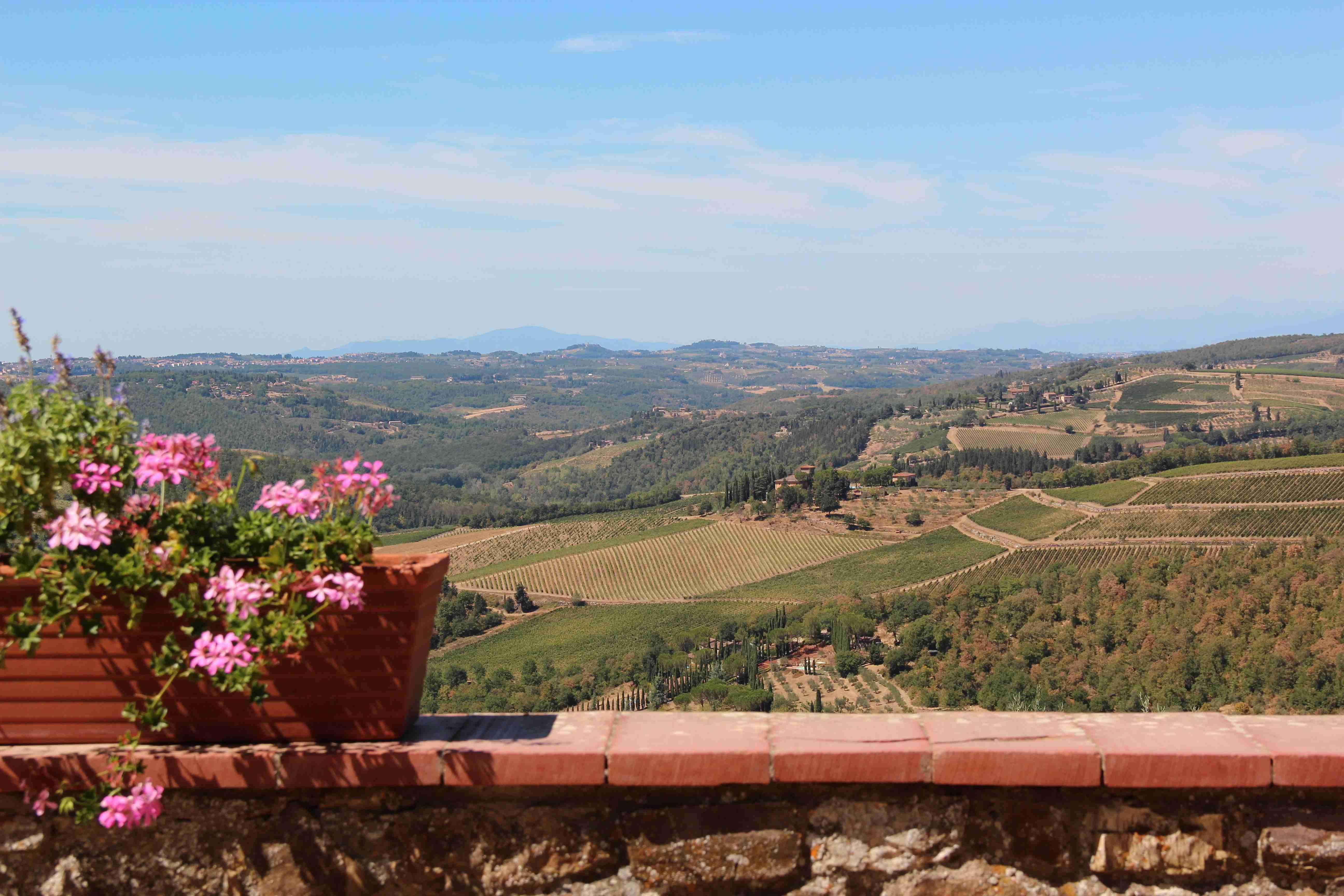 Italian Florence: Chianti Wine Trails: Florence To Siena