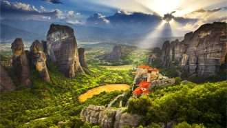 Meteora and Pindos Mountains