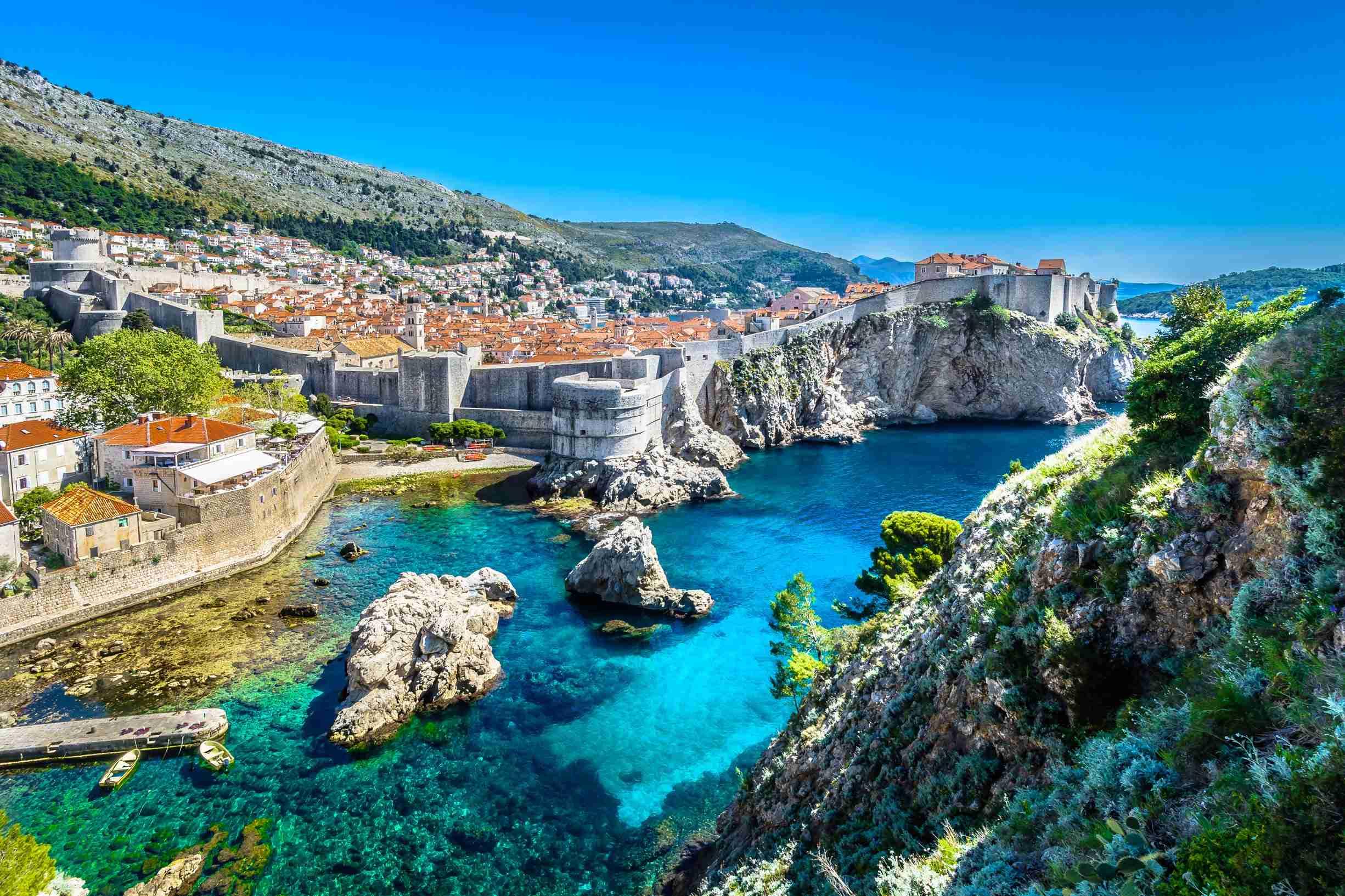 best of montenegro and the croatian islands