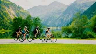 Cycling from Innsbruck to Salzburg