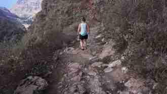 Walking in La Gomera 1