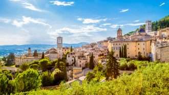 medieval umbria: assisi to spoleto