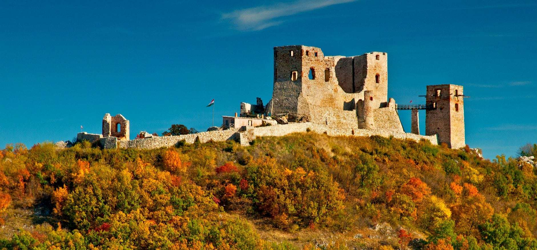 Castles and Monasteries of Bakony Mountains