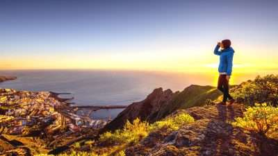 new walking holidays, trails and calderas of la palma