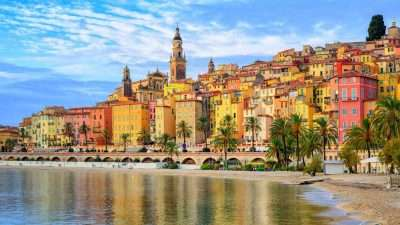 From the Alps to the French Riviera 9