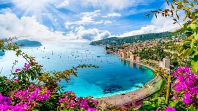 From the Alps to the French Riviera
