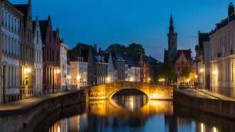 Amsterdam to Bruges on Wheels 30