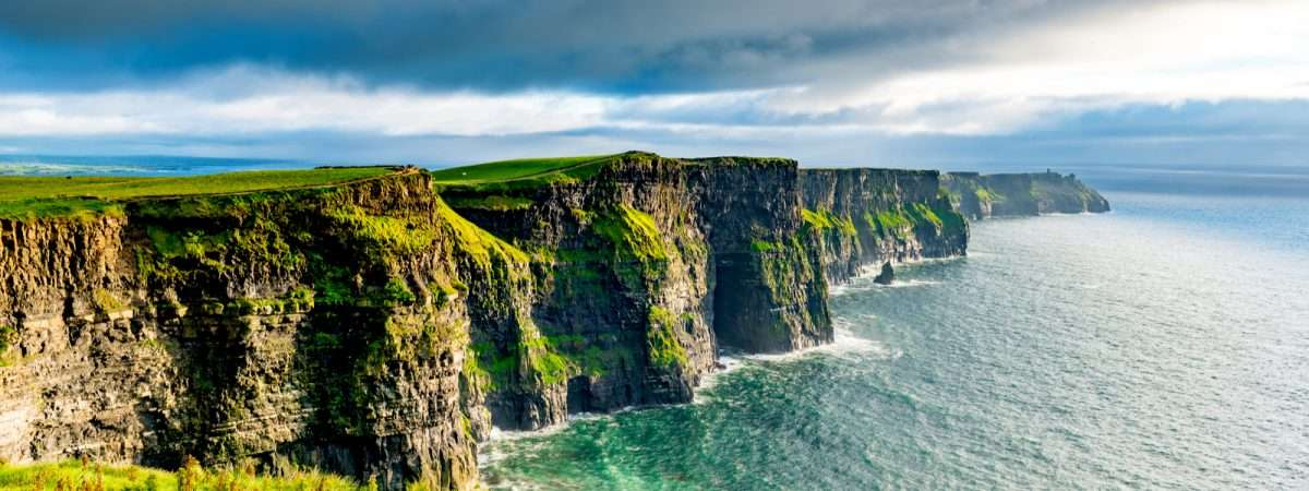 Burren Way and Cliffs of Moher