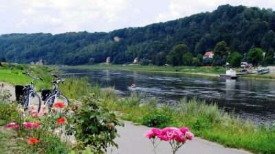 Cycling along the Elbe - From Prague to Dresden 21
