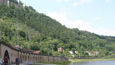 Cycling along the Elbe - From Prague to Dresden 30