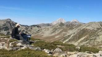 Bulgarian Alps: Rila and Pirin Hut to Hut 54