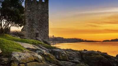 Camino Portugues: Variante Espiritual with Boat