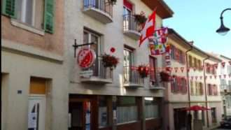 Via Francigena in Switzerland: Lausanne to Aosta 38