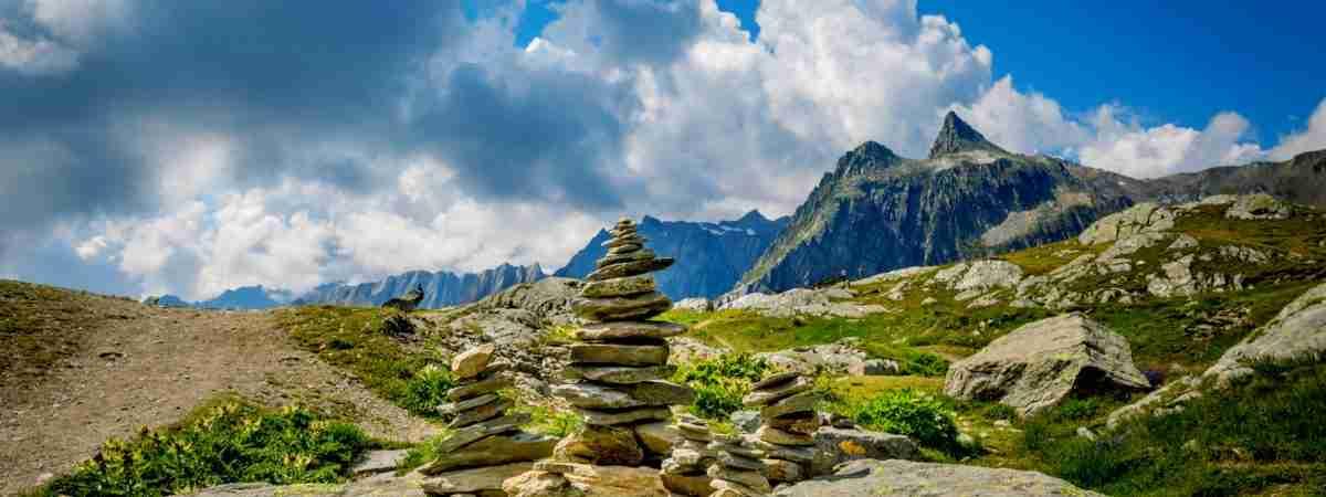 Via Francigena in Switzerland: Lausanne to Aosta 63