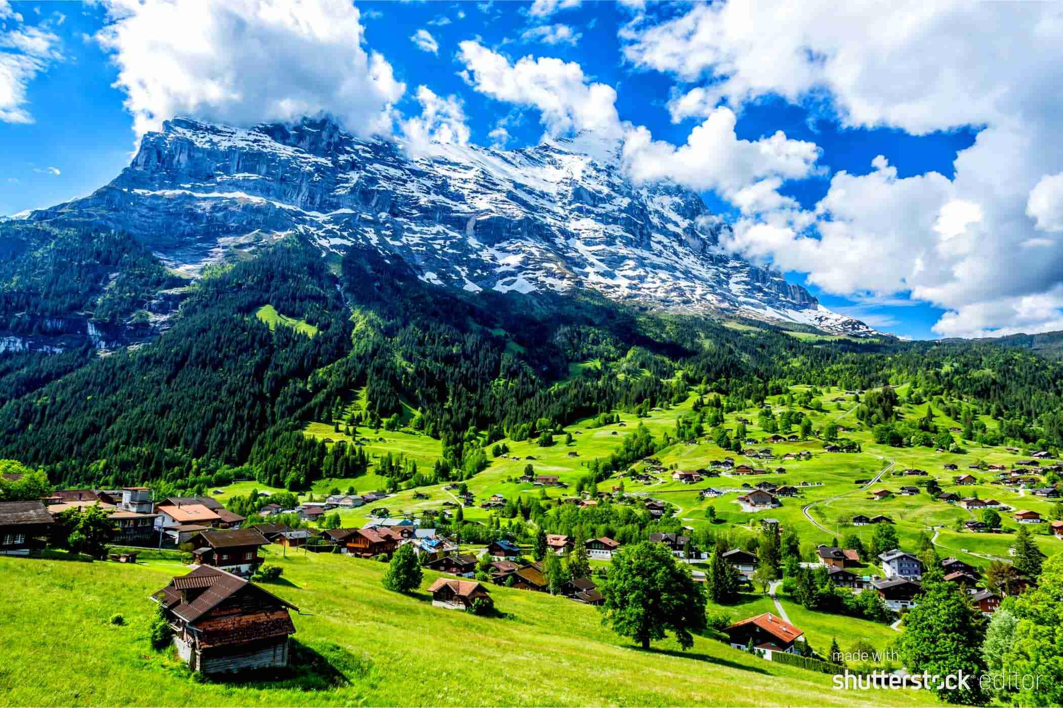 Walking in the Alps 1