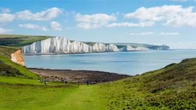 Kent Coast and the White Cliffs of Dover
