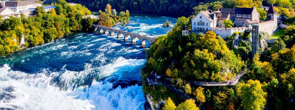 Lake Constance Cycle Path and the Rhine Falls 67