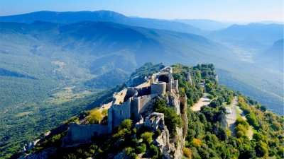 Cathar Trail: Castles of the Ariège Pyrenees