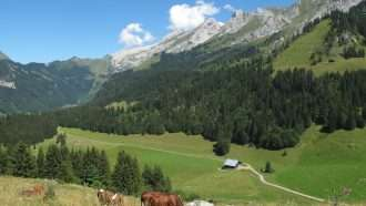 Aravis Range to Lake Annecy 5
