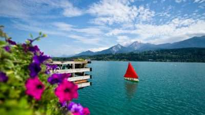 Around the Lakes of Carinthia by Bike 1