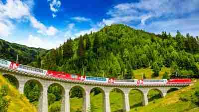 Via Albula - Bernina: Thusis to Tirano 60