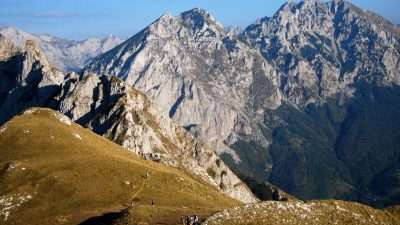 Via Dinarica in Bosnia and Montenegro