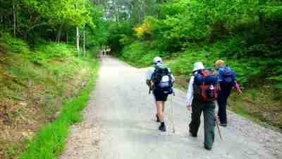 Camino Portugues: Central Way  The Natural Adventure Company 9